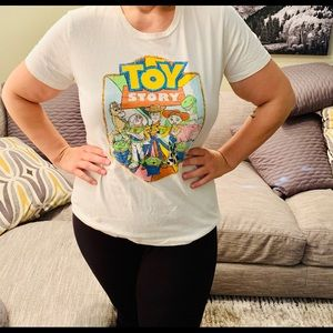 Disney Form-Fitted Toy Story Graphic Tee, 2x